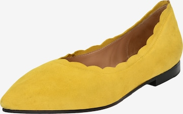 Crickit Ballet Flats 'Leoni' in Yellow