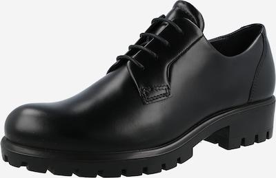 Pantofi cu șireturi ECCO pe negru, Vizualizare produs