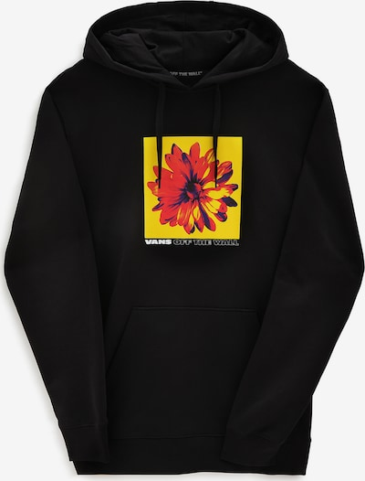 VANS Mikina - žltá / červená / čierna, Produkt