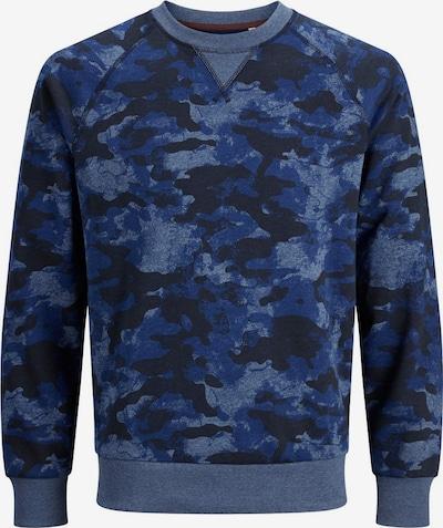 Produkt Sweatshirt in de kleur Blauw / Donkerblauw, Productweergave