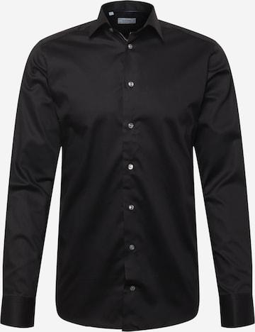 ETON Button Up Shirt in Black