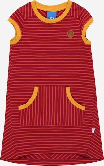 FINKID Robe en jaune / rouge foncé, Vue avec produit