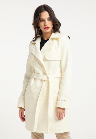 Palton de primăvară-toamnă faina pe alb, Vizualizare model