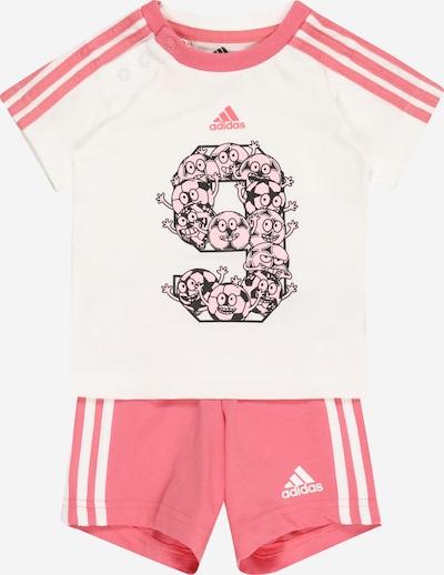 ADIDAS PERFORMANCE Trainingsanzug in pink / rosa / schwarz / weiß, Produktansicht