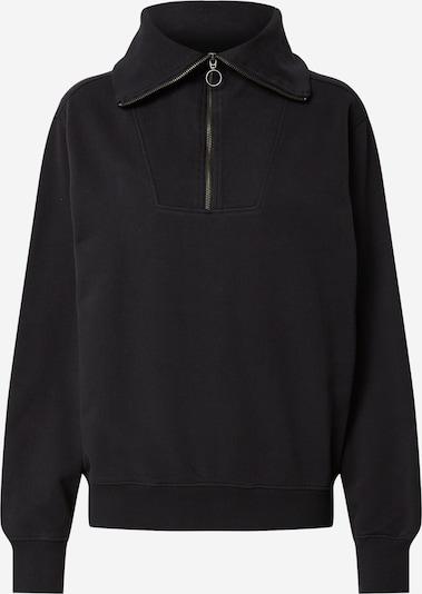 Thinking MU Sweatshirt 'REBECA' en noir, Vue avec produit