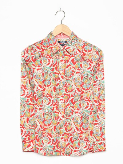 CHAPS Bluse in M in rot, Produktansicht