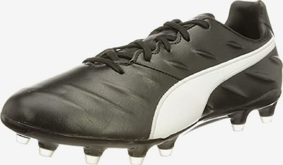 PUMA Soccer Cleats in Black / White, Item view