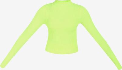 myMo ATHLSR Trui in de kleur Neongroen, Productweergave
