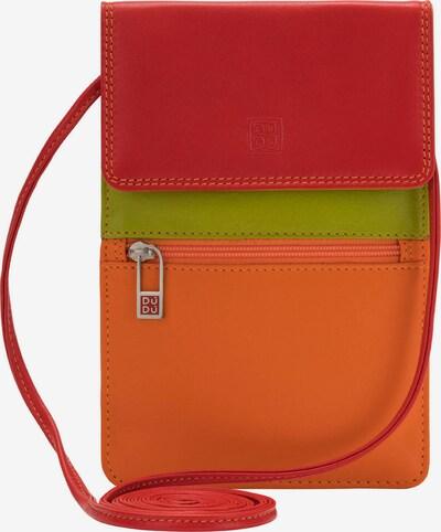 DuDu Umhängetasche in orange / rot, Produktansicht