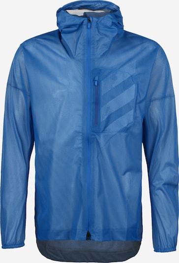 ADIDAS PERFORMANCE Jacke in blau / weiß, Produktansicht