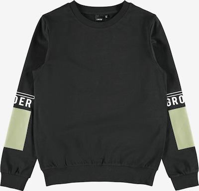 LMTD Sweatshirt 'Theis' in mint / schwarz, Produktansicht