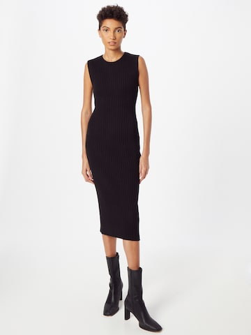 NU-IN Gebreide jurk in Zwart