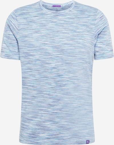 COLOURS & SONS T-shirt 'GINGER' i turkos / duvblå / ljusblå / mörkgrå / vit, Produktvy