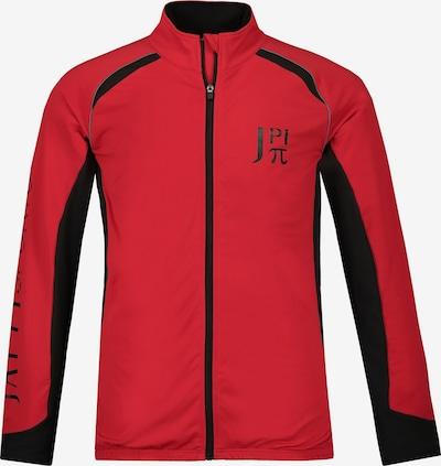 JP1880 Functionele jas in de kleur Bloedrood / Zwart, Productweergave