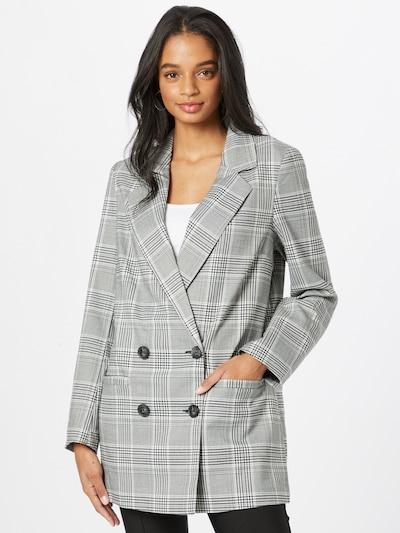 ONLY Blazer 'Dita' in schwarz / weiß, Modelansicht
