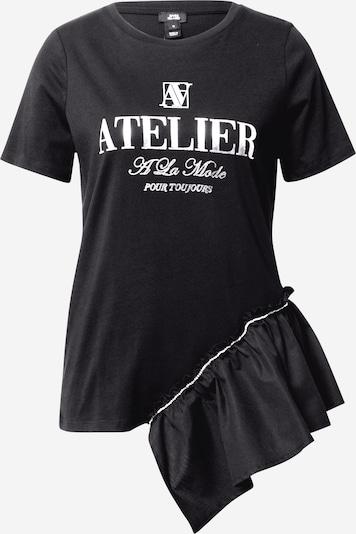 River Island Shirt in schwarz / silber, Produktansicht