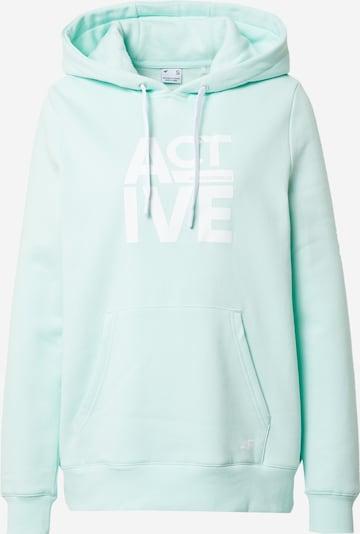 4F Sportsweatshirt in mint / weiß, Produktansicht