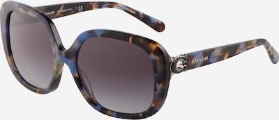 COACH Zonnebril '0HC8292' in de kleur Duifblauw / Donkerblauw / Cognac / Zwart, Productweergave