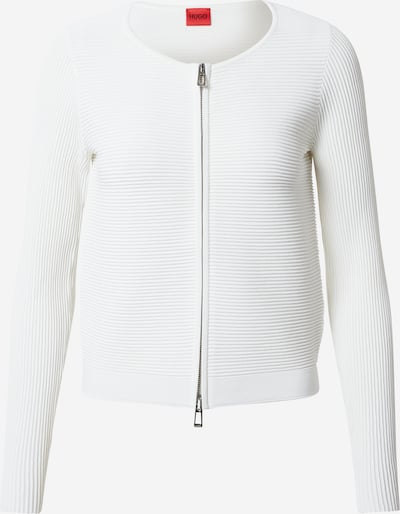 HUGO Knit cardigan 'Sasheen' in White, Item view