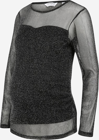 Dorothy Perkins Maternity Majica | črna / srebrna barva, Prikaz izdelka