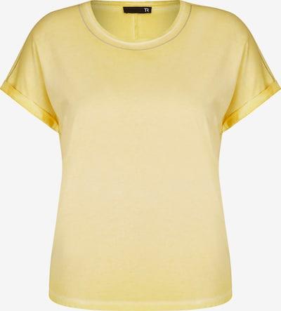 Thomas Rabe Shirt mit unifarbenem Stoff Glitzerdetails in hellgelb, Produktansicht