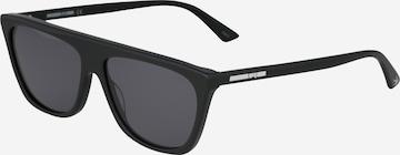McQ Alexander McQueen Sonnenbrille in Schwarz