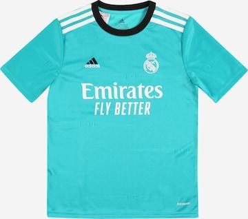 zils ADIDAS PERFORMANCE Sporta krekls 'REAL'