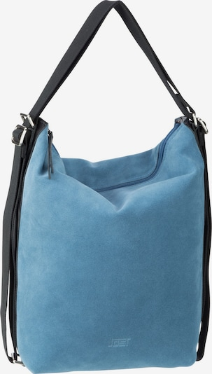 JOST Rucksack 'Motala' in rauchblau / schwarz, Produktansicht