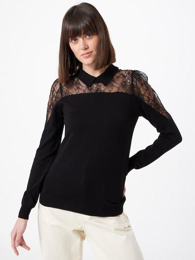 NAF NAF Bluza 'Penelope'   črna barva, Prikaz modela