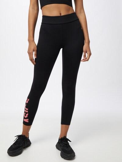 ASICS Sportovní kalhoty - pink / černá, Model/ka