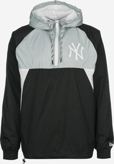 NEW ERA Functionele jas ' Ripstop New York Yankees ' in de kleur Grijs / Zwart / Wit, Productweergave