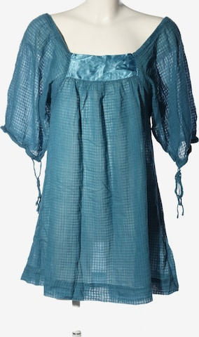 Hüftgold Schlupf-Bluse in XS-XL in Blau