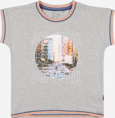 STACCATO T-Krekls, krāsa - naktszils / raibi pelēks / jauktu krāsu / oranžs, Preces skats