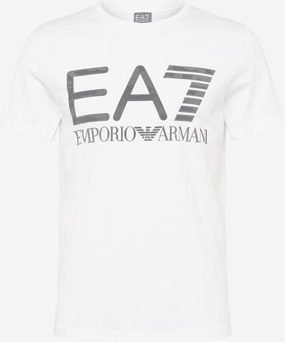 EA7 Emporio Armani T-Shirt en noir / blanc, Vue avec produit