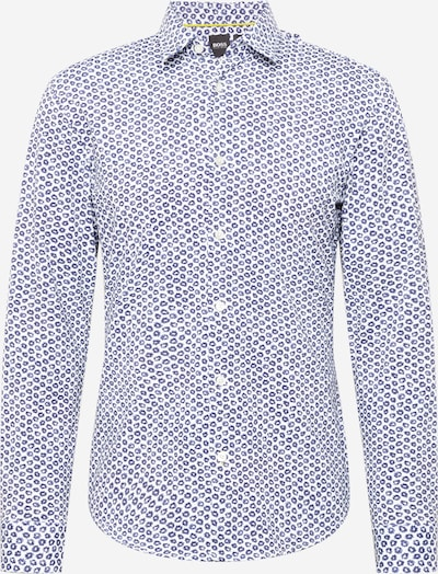 BOSS Hemd 'Ronni' in royalblau / weiß, Produktansicht