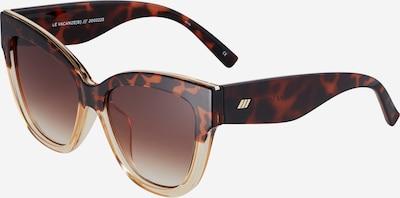 LE SPECS Slnečné okuliare 'LE VACANZE' - béžová / hnedá, Produkt