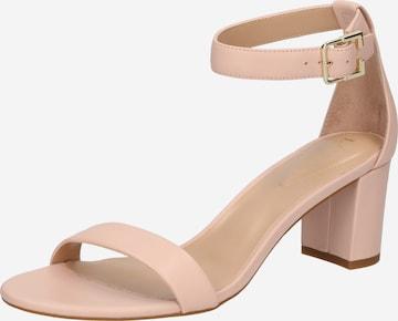 Lauren Ralph Lauren Σανδάλι 'WAVERLI' σε ροζ