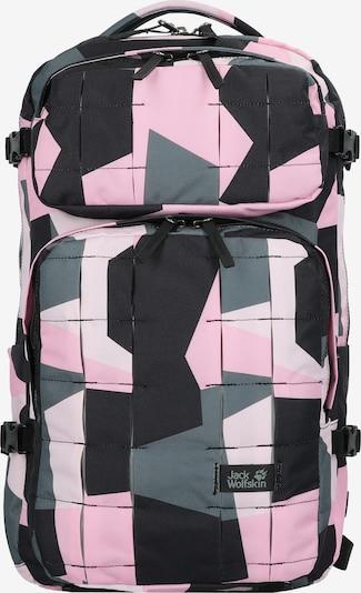 JACK WOLFSKIN Rucksack in pink / schwarz, Produktansicht