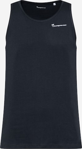 T-Shirt 'PALM' KnowledgeCotton Apparel en bleu