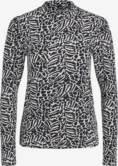 SET Shirt in schwarz / weiß, Produktansicht