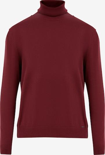 Finn Flare Pullover in dunkelrot, Produktansicht