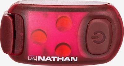 NATHAN Leuchtmittel in rot: Frontalansicht