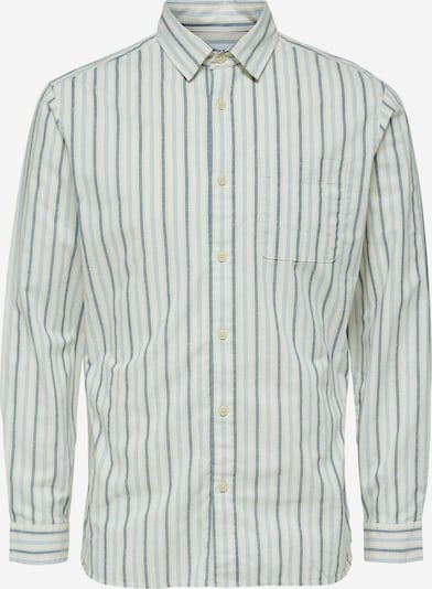 SELECTED HOMME Hemd 'Arthur' in rauchblau / taubenblau / weiß, Produktansicht