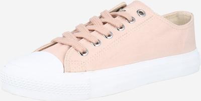 Ethletic Baskets basses 'Fair Trainer White Cap Low Cut' en rose clair, Vue avec produit