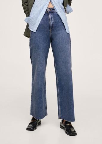 MANGO Jeans 'Catherin' in Blauw