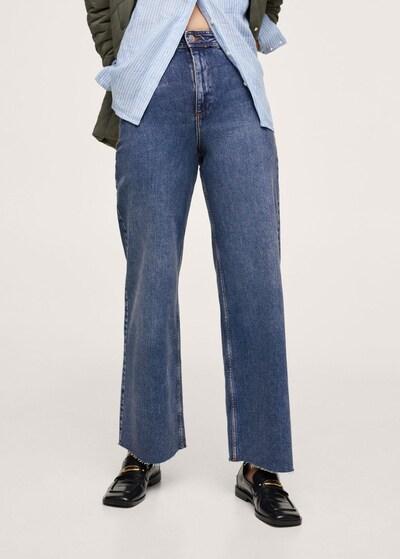 MANGO Jeans 'Catherin' in Blue denim, View model