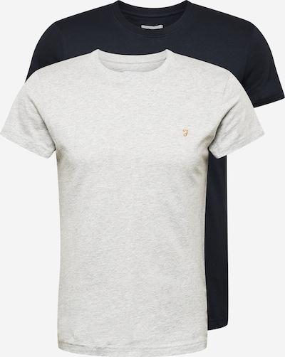 FARAH T-Shirt en bleu nuit / gris clair, Vue avec produit