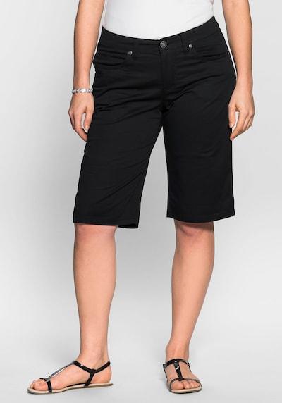 Pantaloni SHEEGO di colore nero, Visualizzazione modelli