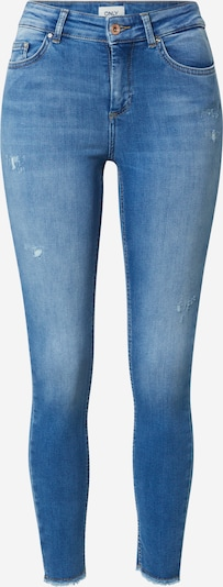 ONLY Jeans 'ONLBLUSH LIFE MID SK RAW ANK BB REA752' in blau, Produktansicht