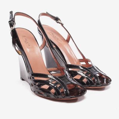 ALAïA Sandaletten in 37 in schwarz, Produktansicht